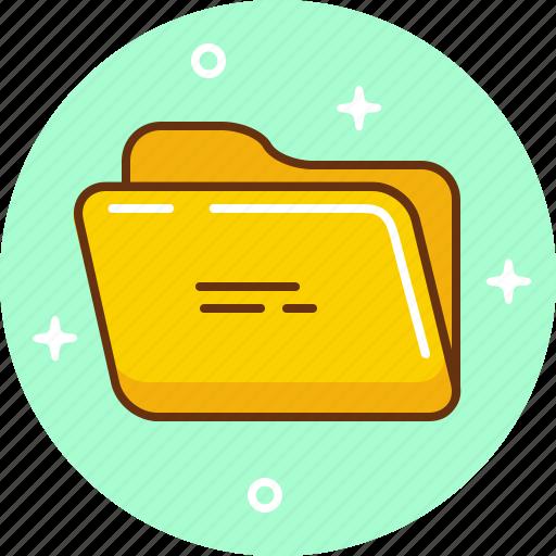 document, folder, open, save icon