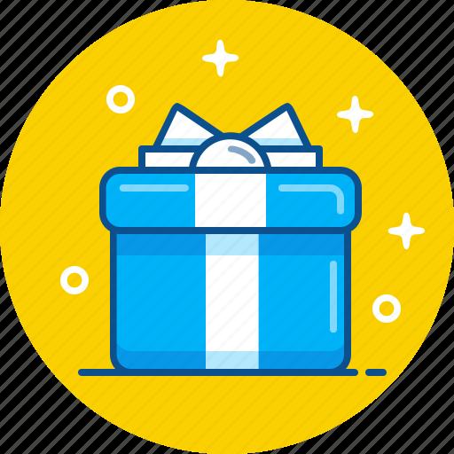 birthday, box, christmas, gift, present icon