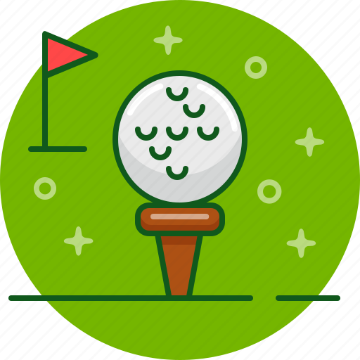 ball, game, golf, play icon