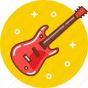 guitar, instrument, music, musical instrument, rock