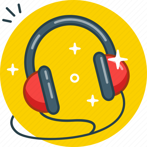 Audio, headphones, listen, music icon - Download on Iconfinder