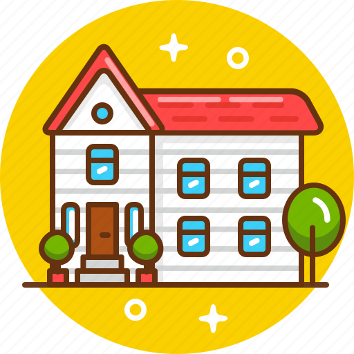 building, home, house, live, mansion icon