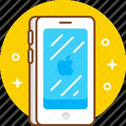 apple, gadget, iphone, phone, smartphone icon
