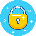 close, lock, pad, padlock, safety, security icon