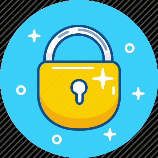 close, lock, pad, padlock, safety, security icon