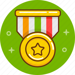 award, medal, prize, victory, win, winner icon