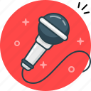 loud, microphone, music, record, sing, speak icon