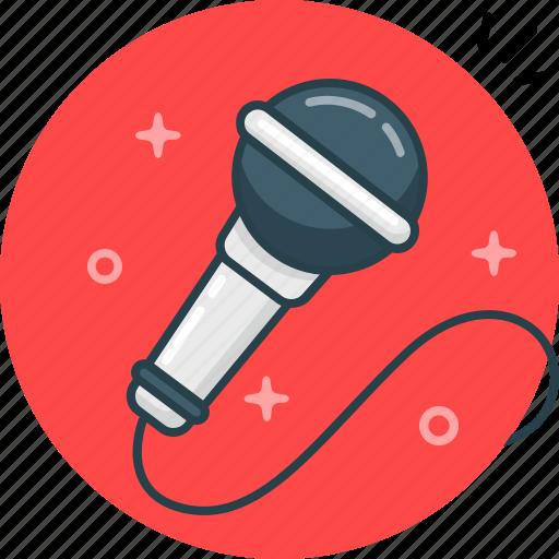 loud, microphone, music, record, sing, speak icon