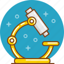 biology, chemistry, lab, laboratory, microscope, research, science icon