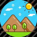 mount, nature, peak, tourism, travel