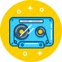 listen, music, record, retro, tape icon