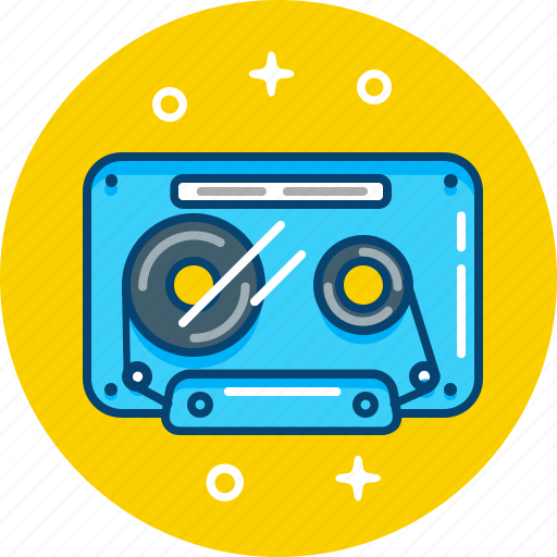 listen, music, record, retro, tape icon