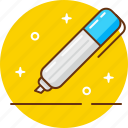 edit, fill in, pen, write icon