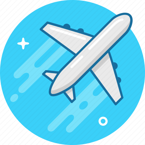 air, air jet, fly, jet, plane, tourism, travel icon