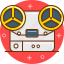 listen, music, player, record, save icon