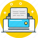 device, document, office, print, printer, publish, tool