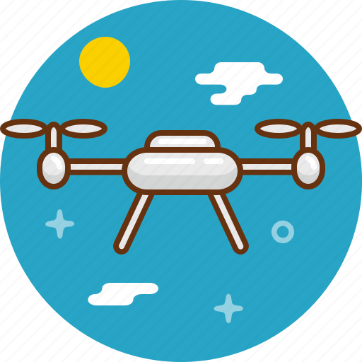 copter, droid, multicopter, quadrocopter icon
