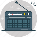 listen, music, news, radio, speaker