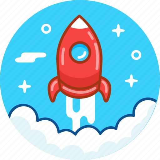 Fly, launch, rocket, space, spaceship, startup icon - Download on Iconfinder
