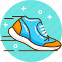 jogging, run, snickers, sport, trainers