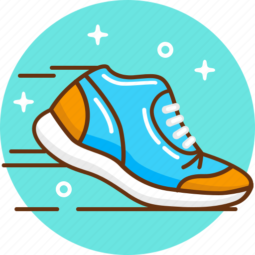 jogging, run, snickers, sport, trainers icon