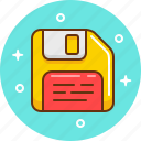 data, floppy, memory, save