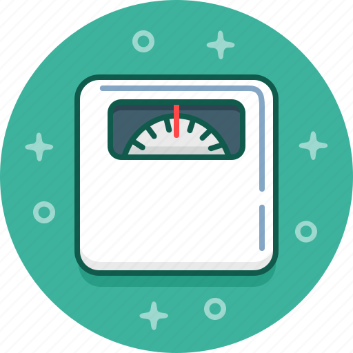 diet, fit, fitness, health, scales, weight icon