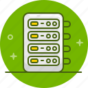 data, database, hosting, server, storage