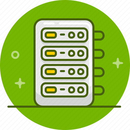Data, database, hosting, server, storage icon - Download on Iconfinder