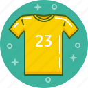football, shirt, t-shirt, top, uniform icon