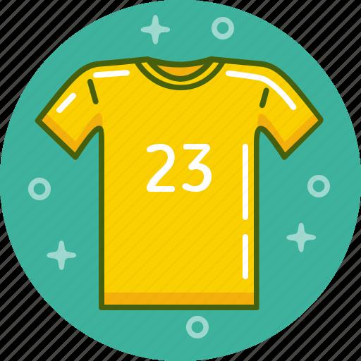 football, shirt, t-shirt, top, uniform icon