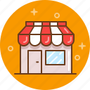 bakery, boutique, butchery, grocery, shop