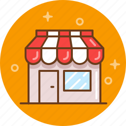 bakery, boutique, butchery, grocery, shop icon