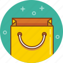 bag, gift, package, paper bag, present, purchase, shopping