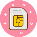 chip, data, micro, sim