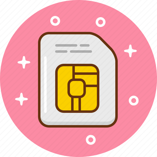 Chip, data, micro, sim icon - Download on Iconfinder