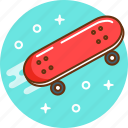 ride, skate, skateboard, sport, teenager