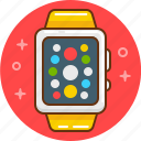 apple, apple watch, smart, watch icon