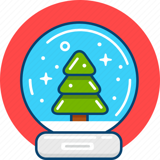 christmas, gift, present, season, snowball, souvenir, winter icon
