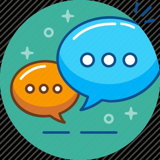 chat, conversation, dialogue, speak, speech icon