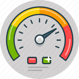 car, drive, fast, risk, speed, speedometer icon