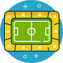 arena, football, game, play, sport, stadium icon