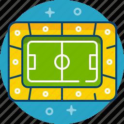 arena, football, game, play, sport, stadium icon