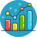 business, graph, performance, rate, sales, scheme, statistic