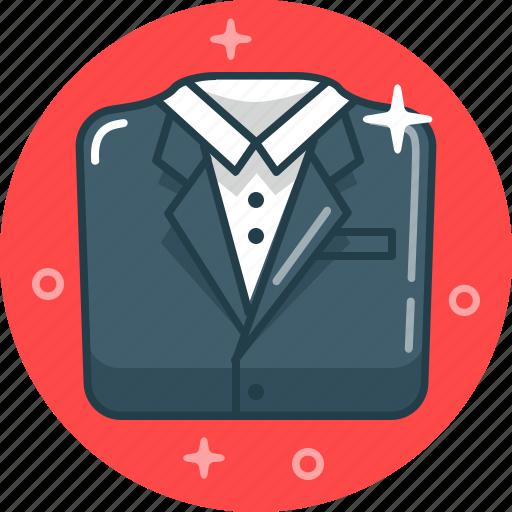 businessman, classic wear, office, suit icon