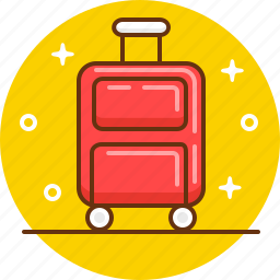 pack, packing, suitcase, tourism, travel icon