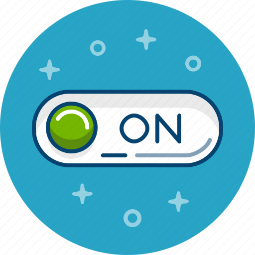 On, switch, turn on, with on icon - Download on Iconfinder