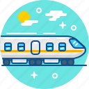 railway, tourism, train, travel icon