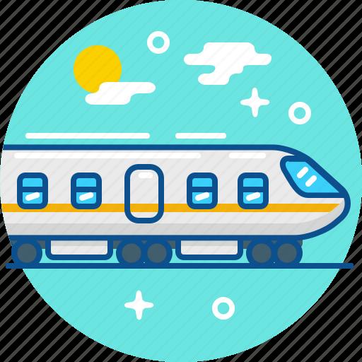 railway, tourism, train, travel icon