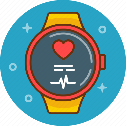 biorythm, gadget, health, healthcare, pulse, tracker, watch icon